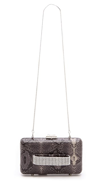 Serpui Marie Snake Jeweled Clutch