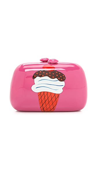 Serpui Marie Ice Cream Clutch