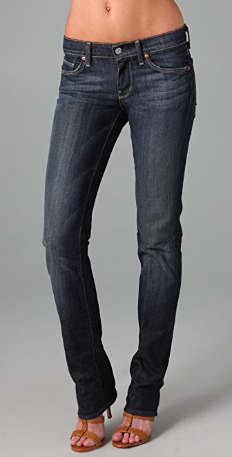 7 For All Mankind Stretch Straight Leg Jeans