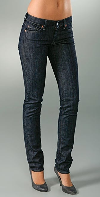 7 for all mankind roxanne skinny slimmer jeans shopbop. Black Bedroom Furniture Sets. Home Design Ideas