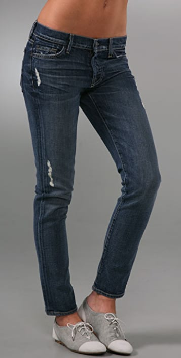 7 For All Mankind Josefina Organic Slouchy Skinny Jeans