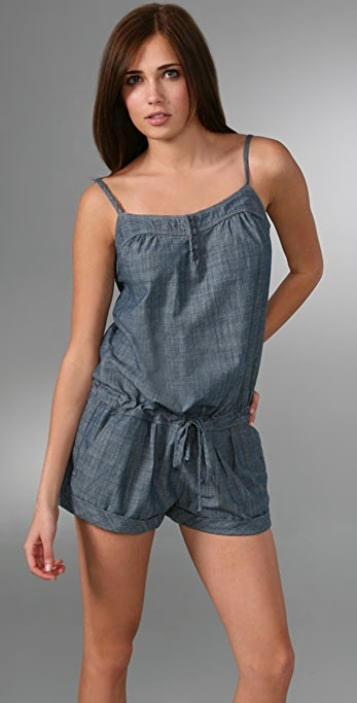 7 For All Mankind Henley Romper