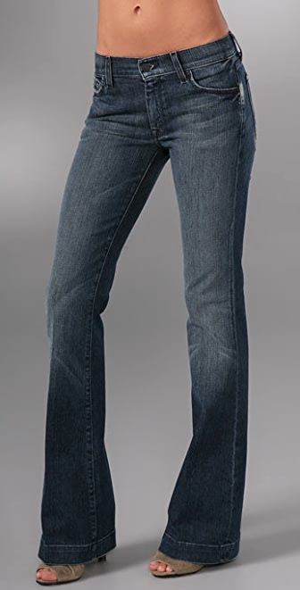 7 For All Mankind Charlize Flare Jeans | 15% off first app ...