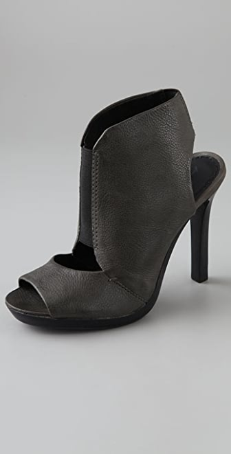 7 For All Mankind Mariah Open Toe Booties
