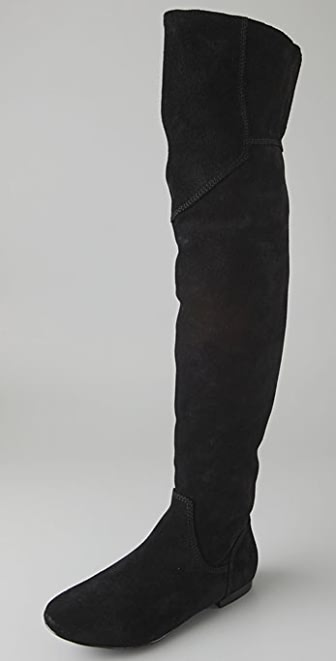 7 For All Mankind Basel Suede Over the Knee Boots