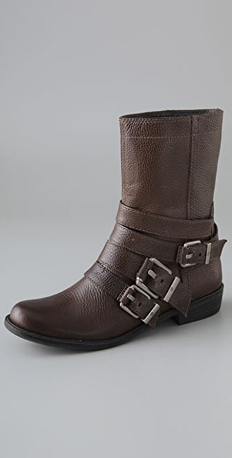 7 For All Mankind Orly Motorcycle Boots