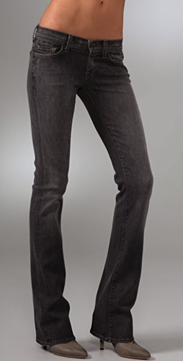 7 For All Mankind Rocker Boot Cut Jeans