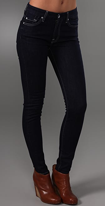 7 For All Mankind High Waist Gwenevere Skinny Jeans | 15% off ...