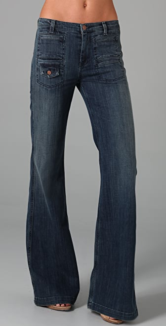 7 For All Mankind Georgia Trouser Jeans | 15% off first app ...