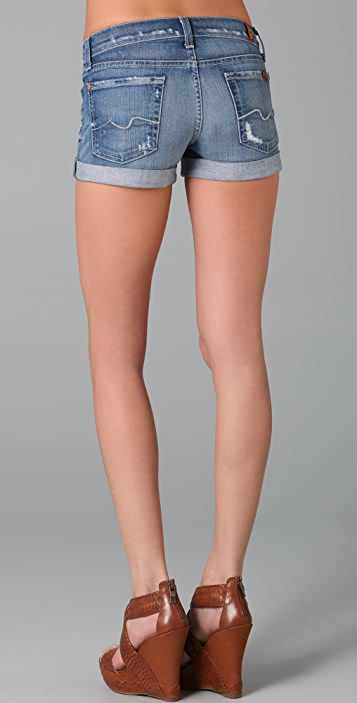 7 For All Mankind Roll Up Shorts
