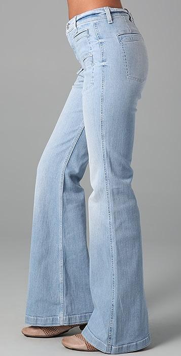 7 For All Mankind Georgi Overcast Vintage Flare Jeans