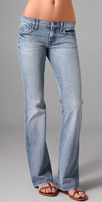 7 For All Mankind Lexie Petite Boot Cut Jeans