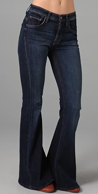 7 For All Mankind Lexie Petite Bell Bottom Jeans | 15% off first ...