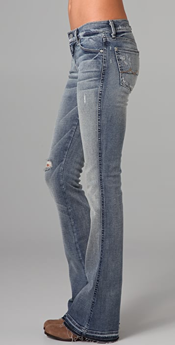7 For All Mankind Kaylie Supermodel Boot Cut Jeans