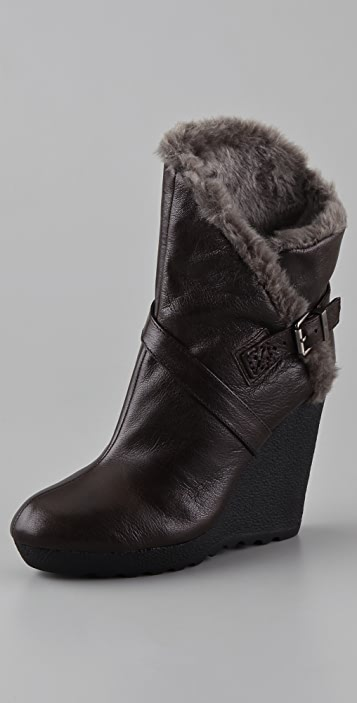7 For All Mankind Tevin Wedge Boots