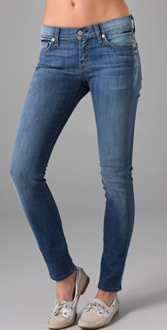 7 For All Mankind Gwenevere Super Skinny Jeans  SHOPBOP