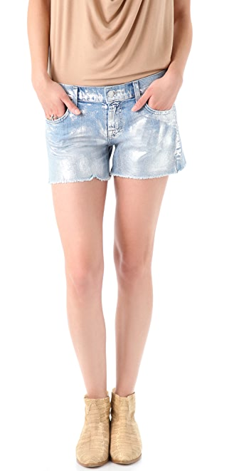 7 For All Mankind Carlie Cutoff Shorts