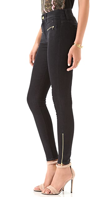 7 For All Mankind Skinny Savannah Coated Jeans