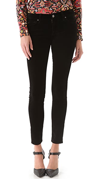 7 For All Mankind Velvet Skinny Pants