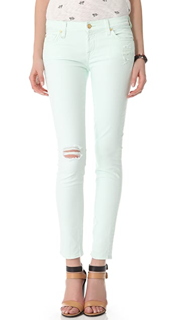7 For All Mankind The Slim Cigarette Pants