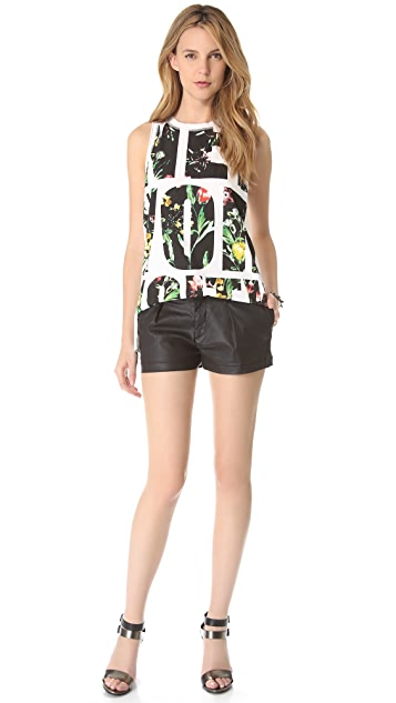 7 For All Mankind Coated Shorts