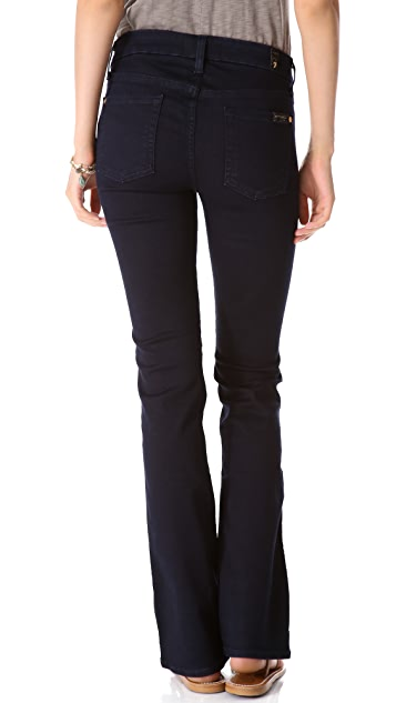 7 For All Mankind The Slim Illusion Boot Cut Jeans