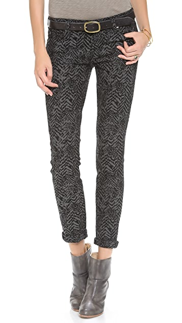 7 For All Mankind The Skinny Jacquard Pants