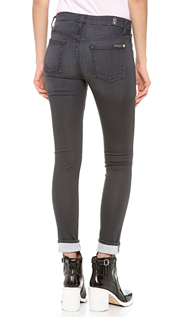 7 For All Mankind The High Waisted Skinny Jeans