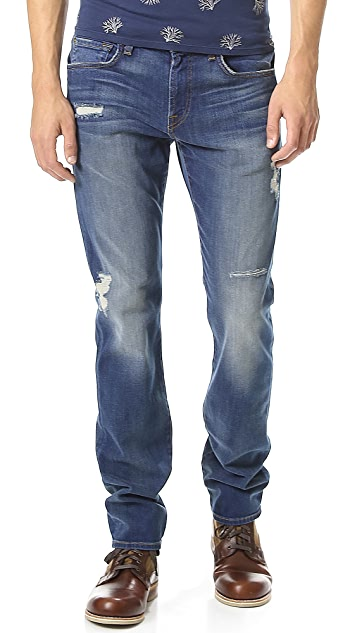 7 For All Mankind The Straight Vintage Wash Jeans