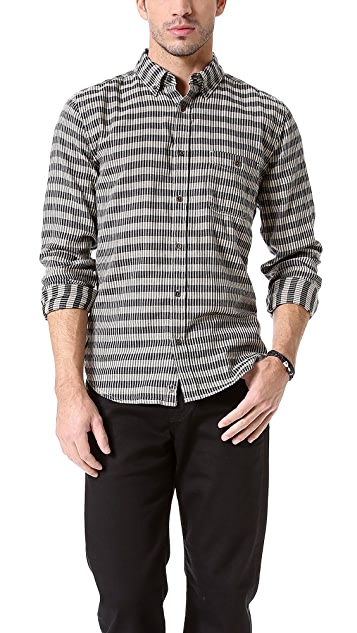 7 For All Mankind Classic Check Shirt