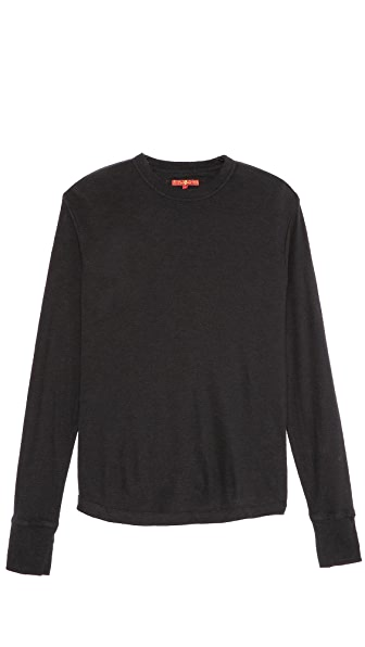 7 For All Mankind Mini Thermal T-Shirt