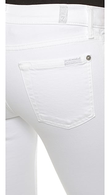 7 For All Mankind The Slim Illusion Skinny Jeans