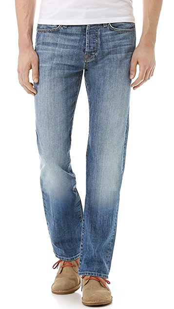 7 For All Mankind Standard Classic Straight Fit Jeans