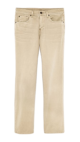 7 For All Mankind Carsen Straight Fit Pants