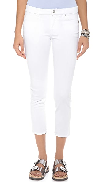 7 For All Mankind Kimmie Crop Jeans