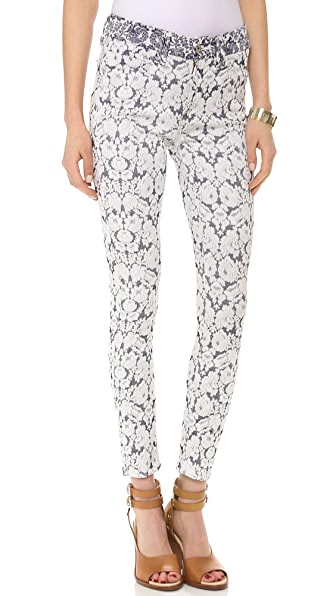 7 For All Mankind Tailored Ankle Skinny Pants