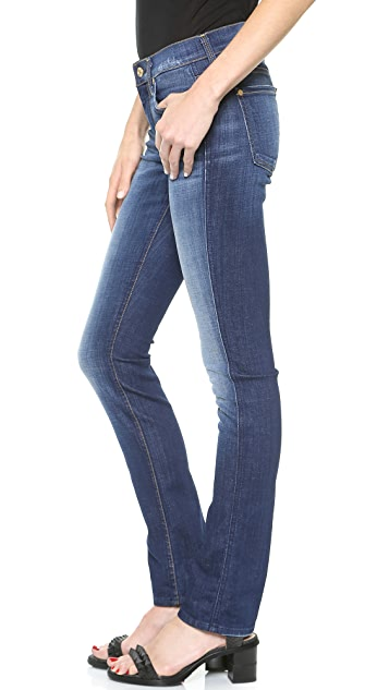 7 For All Mankind The Modern Straight Jeans