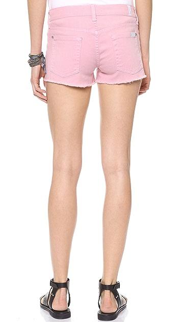 7 For All Mankind Cutoff Twill Shorts