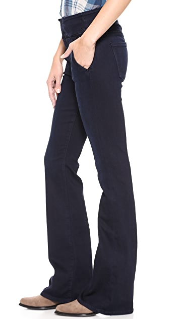 7 For All Mankind High Waisted Wide Leg Trouser Jeans