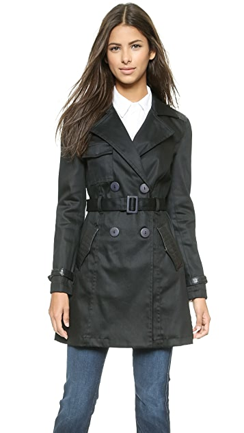 7 For All Mankind Trench Coat