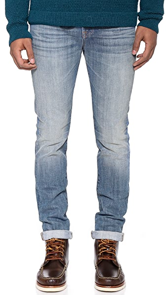 7 For All Mankind Paxtyn Tapered Skinny Jeans