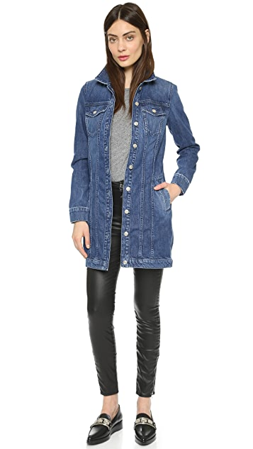 7 For All Mankind Trucker Duster Jacket