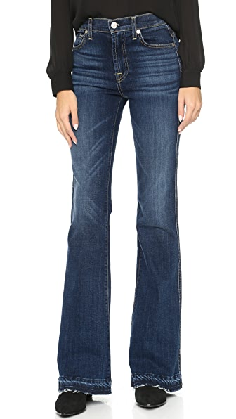 7 for all mankind high waisted boot cut jeans shopbop