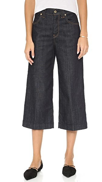 7 For All Mankind Culotte Jeans   15% off first app purchase with ...