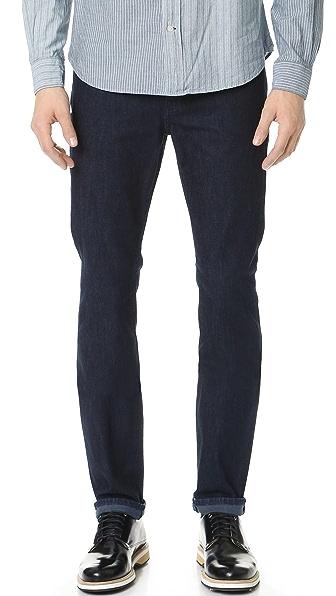 7 For All Mankind Slimmy Slim Straight Denim Jeans