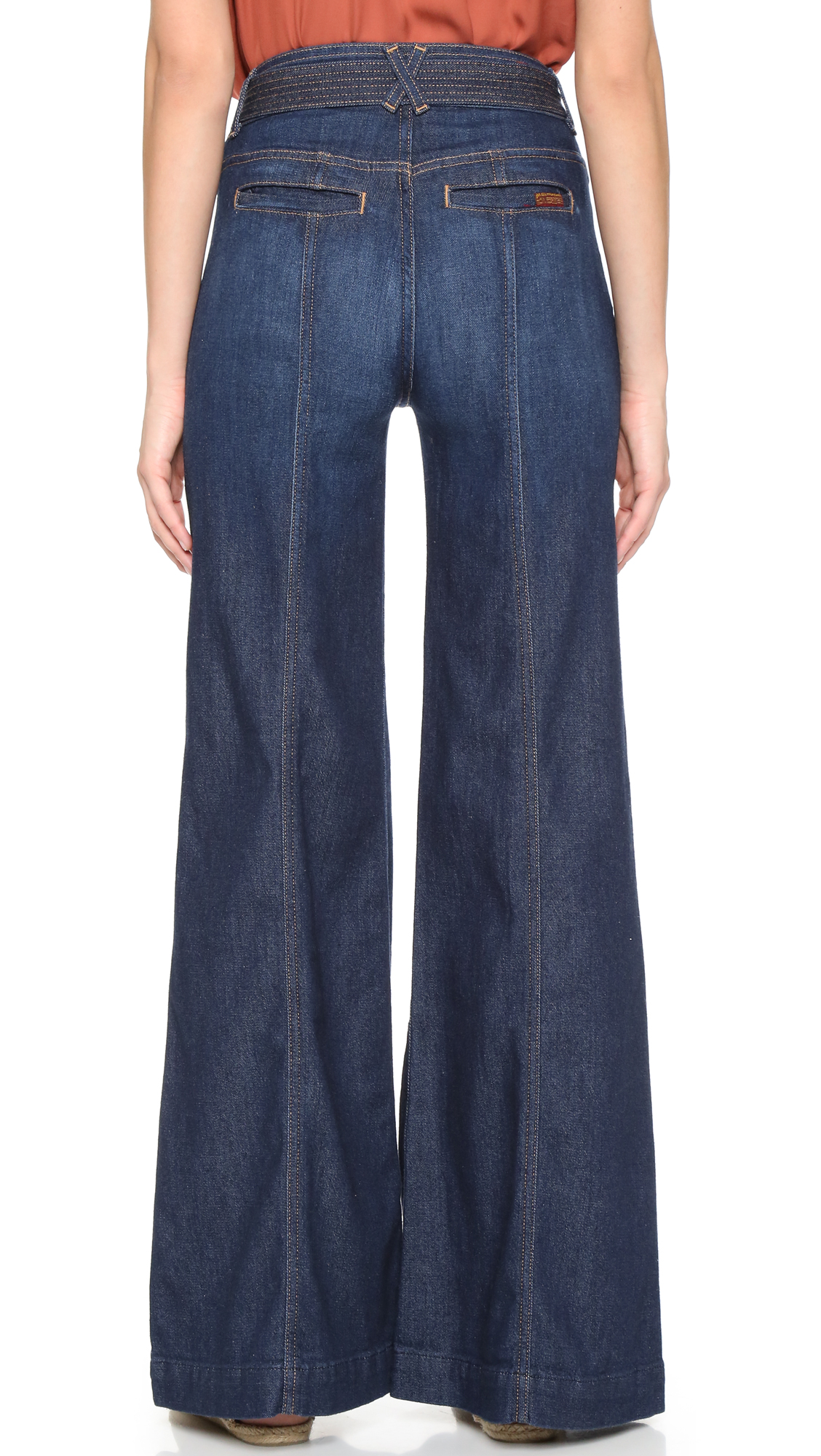 7 For All Mankind The Belted Palazzo Jeans | 15% off first app ...