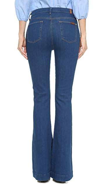 7 For All Mankind The High Waisted Trouser Jeans