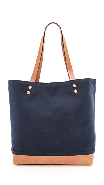 Southern Field Industries Waxed Canvas Tote