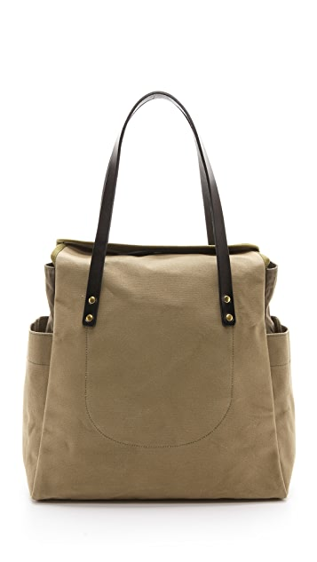 Southern Field Industries Waxed Canvas PX Tote