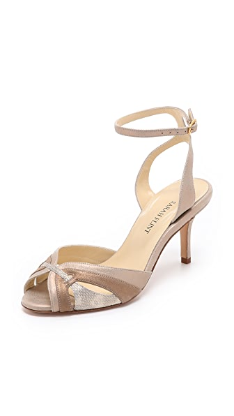 Sarah Flint Jane Sandals - Gold/Bronze/Gold
